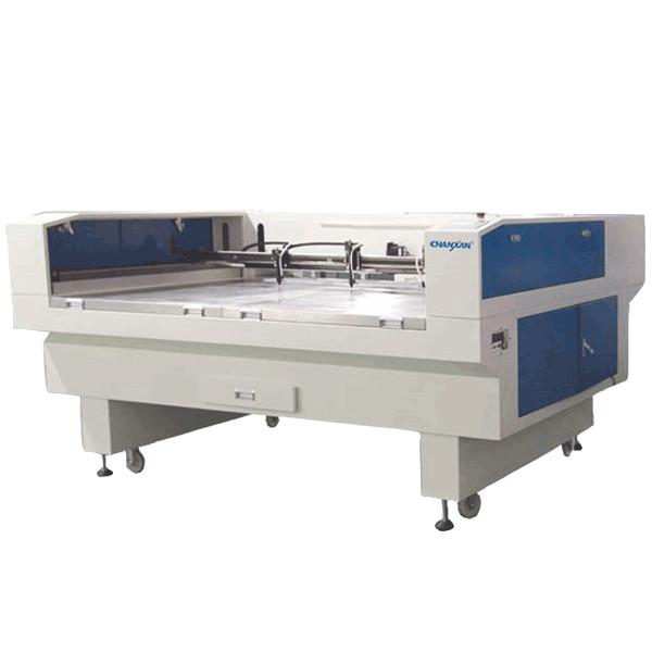 CW-1910T Clean cloth laser cutting machine