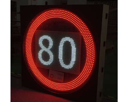 led display for Variable Speed Limited Sign