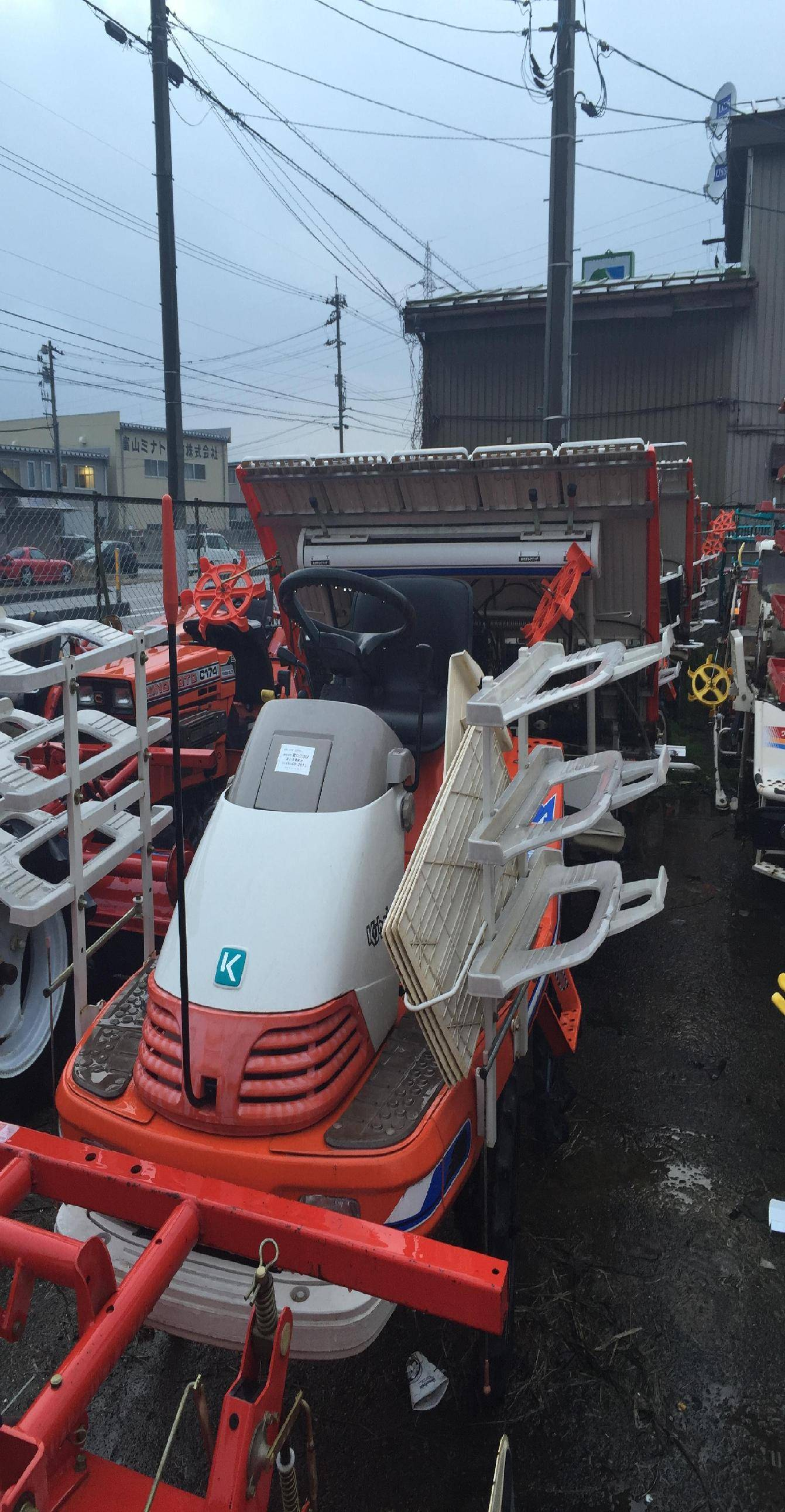 Used seeder Kubota SPA5 Unit 3