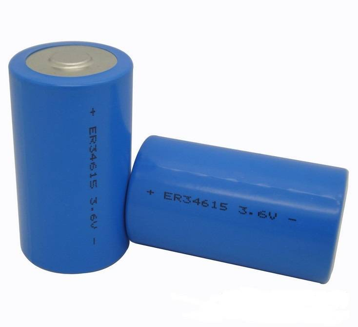 ER34615 High capacity non-rechargeable primary battery LiSOCl2 battery for Smart Lock, GPS Tracking