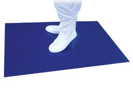 white/blue Sticky/tacky mats for industrical clean room