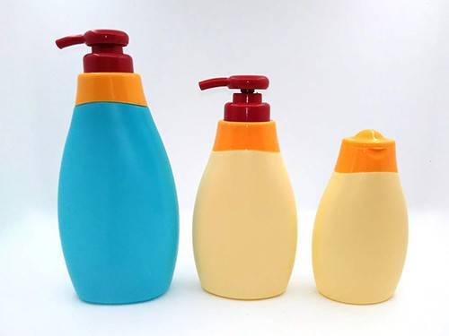 baby lotion bottle, shampoo bottle, pump bottle, plastic bottle, cosmetic packaging, PE bottle