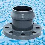 PVC Pressure Fittings With Rubber Ring Joint for Water Supply PN10