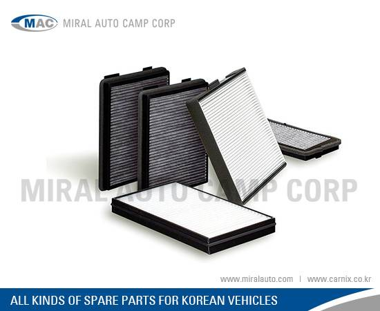 All Kinds of Cabin Filters for Korean Vehicles