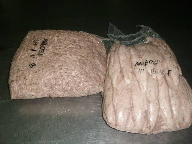 Frozen pre cooked loin