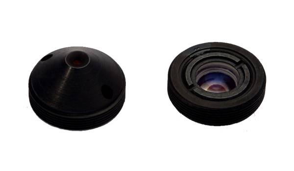 XS-8043-A-122 Pinhole lens, 1/3, 120 degree, for mini camera/pinhole camera/hidden camera