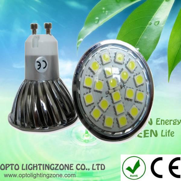 3w GU10 SMD5050 LED lamp