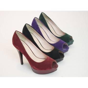 2014 hot selling women fashion heels lady shoe