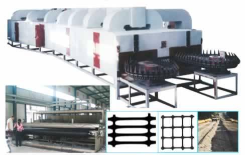 earthwork gird extrusion production line