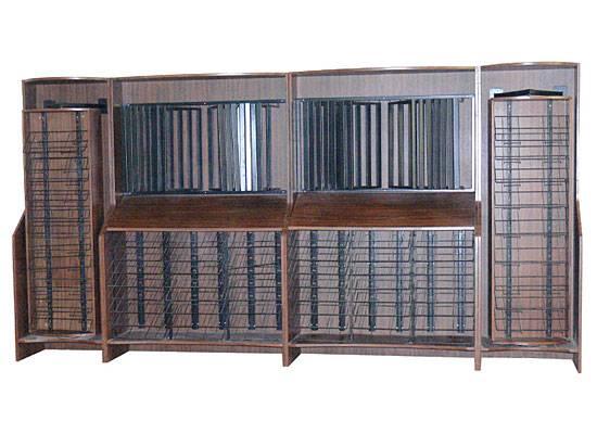 steel display rack for  board