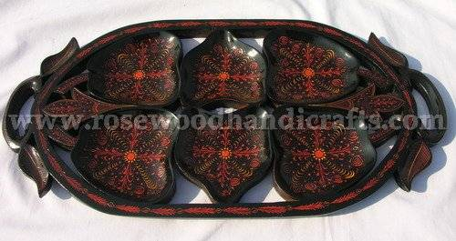 Wooden Lacquer Color Dry Fruit Trays,Wooden Trays