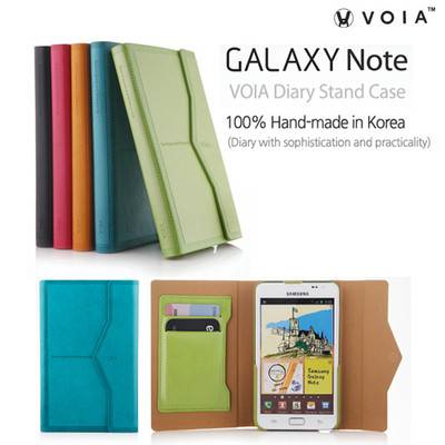 Samsung Galaxy Note i9220 GT-N7000 Fancy Diary Leather Wallet Case New