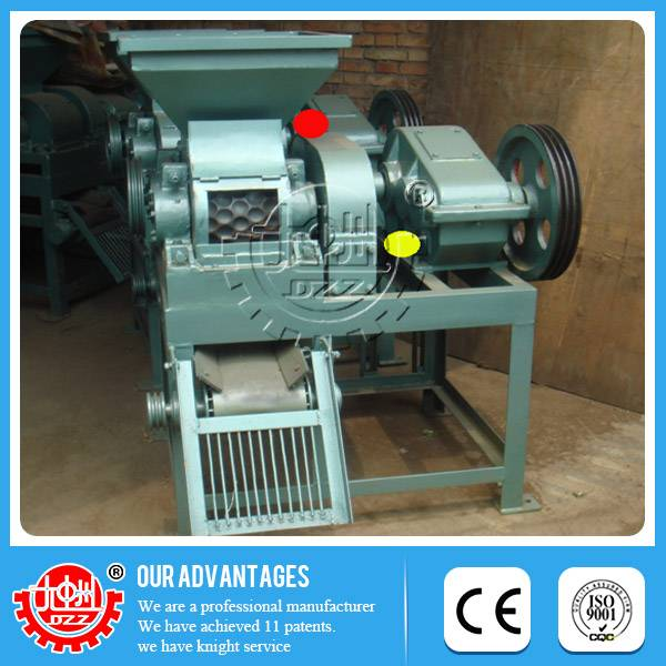 Latest technology High efficiency Nickel laterite ores briquette machinery