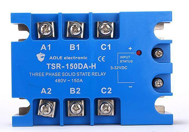Three phase solid state relay TSR-150DA-H