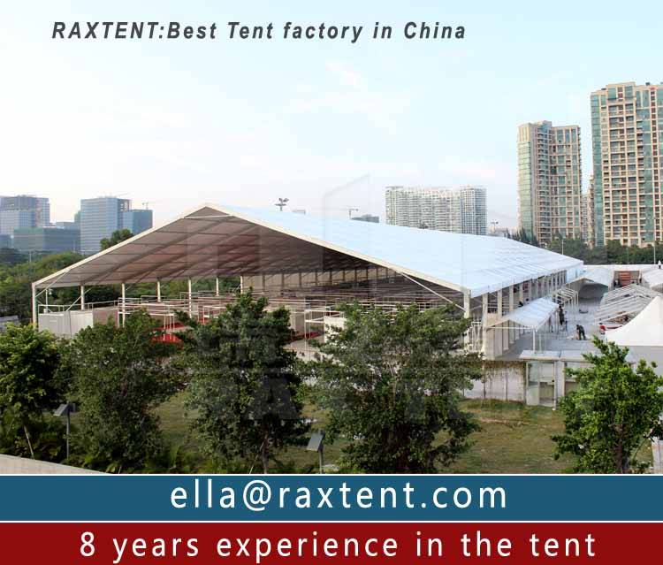 30m to 50m warehouse tent