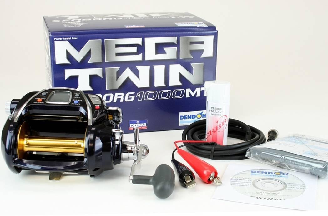 Daiwa Seaborg Megatwin SB1000MT Electric Fishing Reel