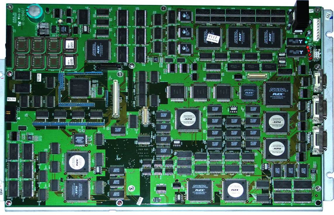 image processing pcb for qss 2901