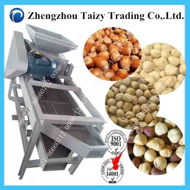 Good Quality Hot Sale Hazelnut Shelling Machine