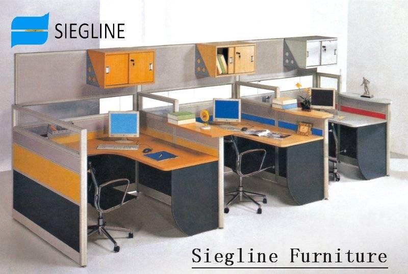 Рабочей станции мебель последние офисный стол для Четырех Че.