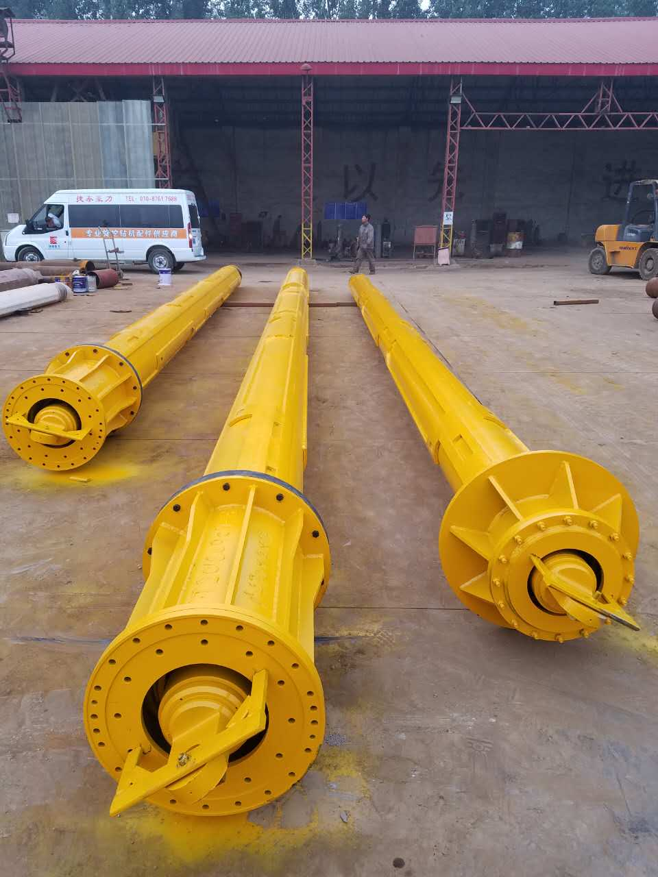Rotary drilling rig bore piling machine kelly bar