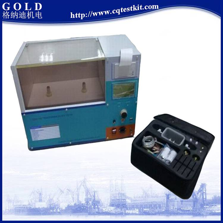 ASTM D1816, BS5874 Insulating Oil Dielectric Strength Tester 100kV