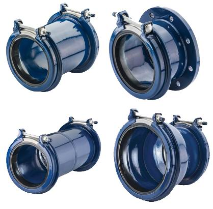 Ductile Iron Clamps, OEM Manufacturer