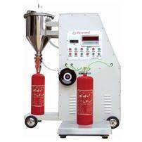 Automatic type fire extinguisher power filler technical