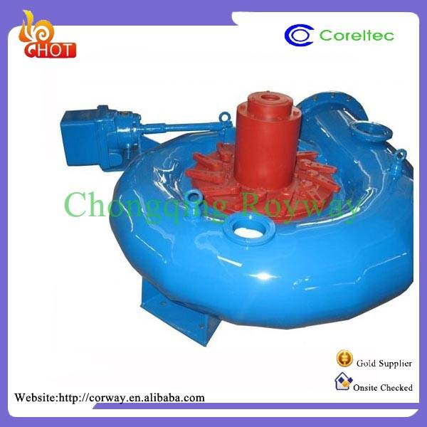 Simple Structure And Durable 0.021-0.03 m3/s Environment-friendly Small Water Turbine
