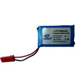 3.7V 300mAh Li-polymer Battery Pack , LP602030 Lithium Battery