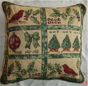 christmas jacquard cushions, cushions,tapestry cushion,throw pillow
