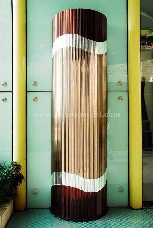 glass pillar(with Phantom glass strip)