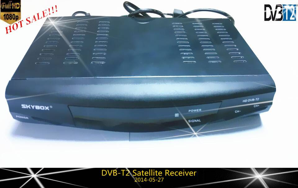 latest FTA 1080P Full HD DVB-T2 satellite receiver