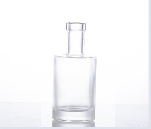 250ML glass vodka bottle