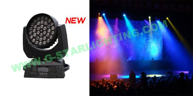 Zoom 36 Led moving head lights