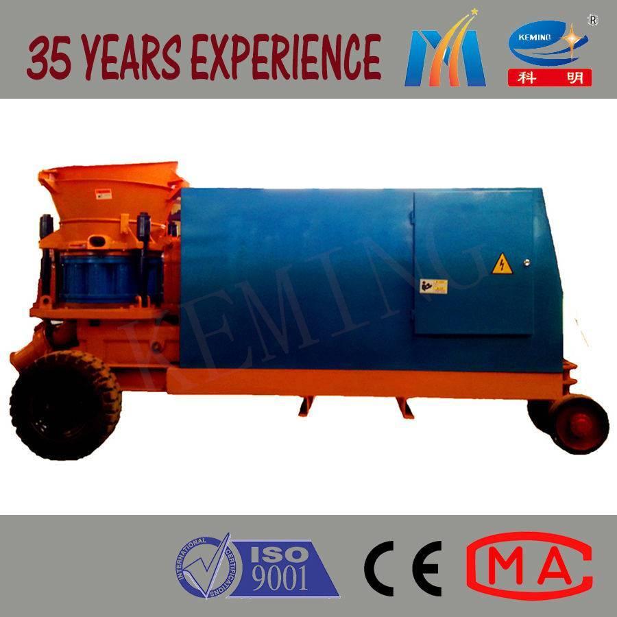 PZ Dry Concrete Shotcrete Machine with Diesel Engine