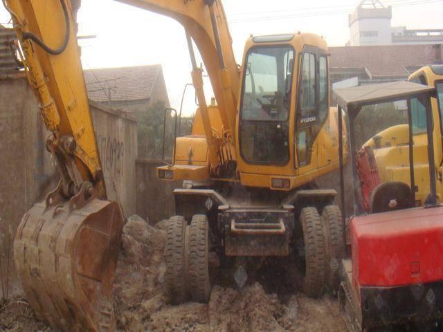 Used excavator hyundai r 130W