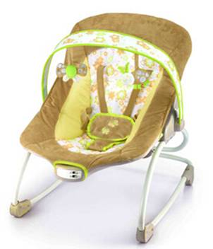 baby rocker vibrate and play music