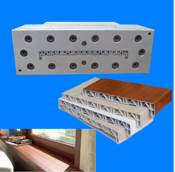 pvc window sill mould/pvc window sill cover mould