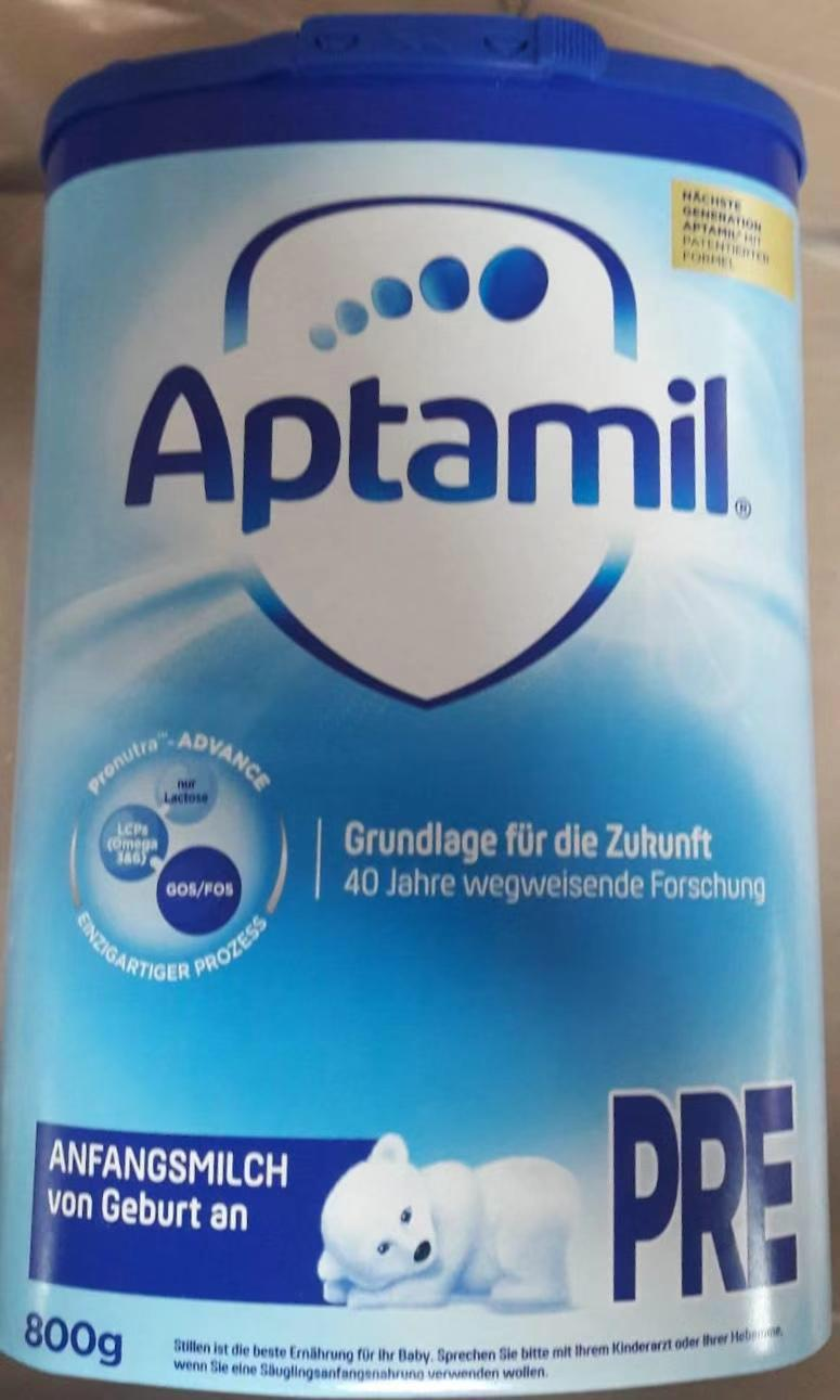Baby milk Aptamil, origin Germany