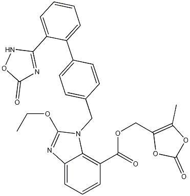 Azilsartan Medoximil CAS 863031-21-4