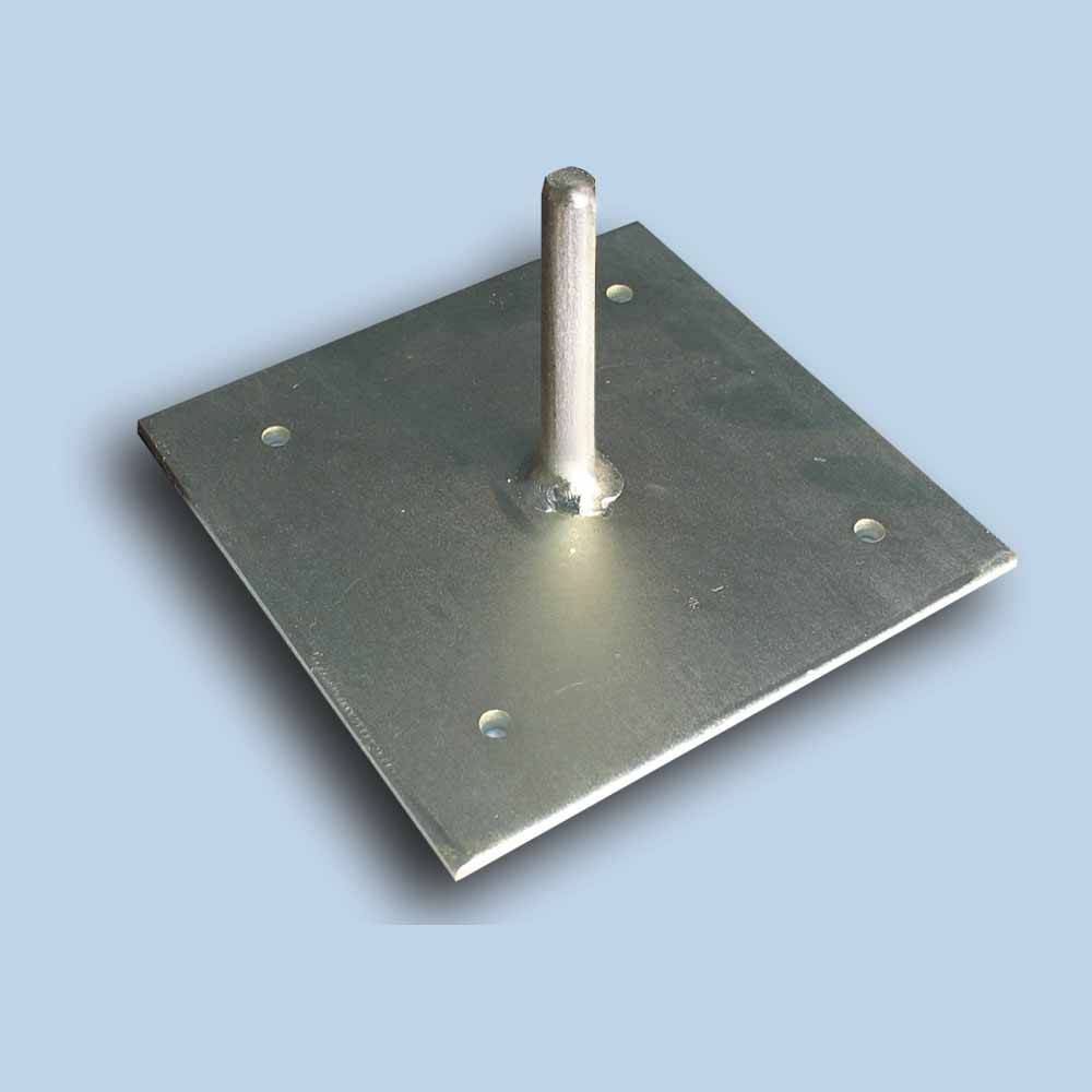 base plate with rod