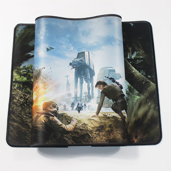 OEM Factory Custom Heat Transfer Printing Rubber Gaming Mouse Pad