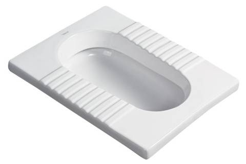 School apartment hospital government agencies public toilet bathroom ceramic Squat toilet Pans