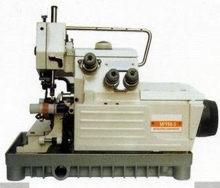 High-speed work glove selvedge rolling machine