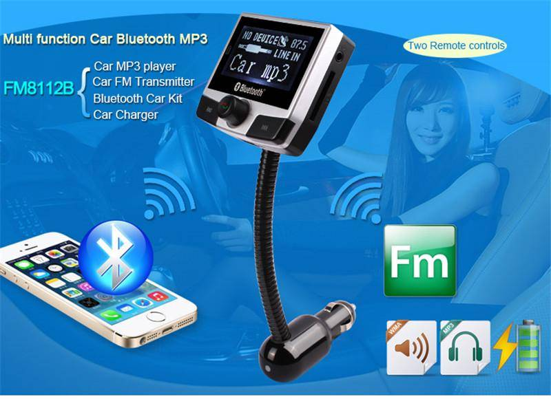 Bluetooth Car Charger FM Transmitter Manual BT Car Charger