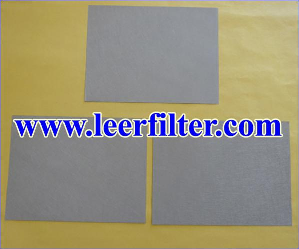 Sintered Fiber Filament Media