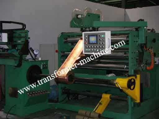 foil winding machine