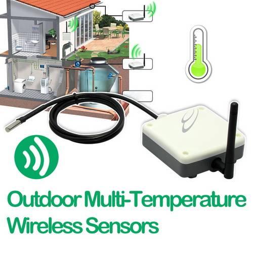 Outdoor Multi-Temperature Wireless Sensors KIT