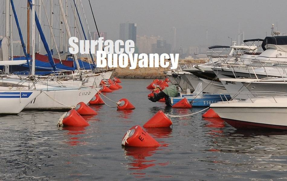 General Surface Buoys used for Hong Kong Yacht Dock, Cylindrical Buoy