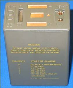 Rechargeable Lithium-Ion Military Battery BB2847A/U
